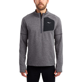 saucony Runstrong Thermal Sportop dark grey heather